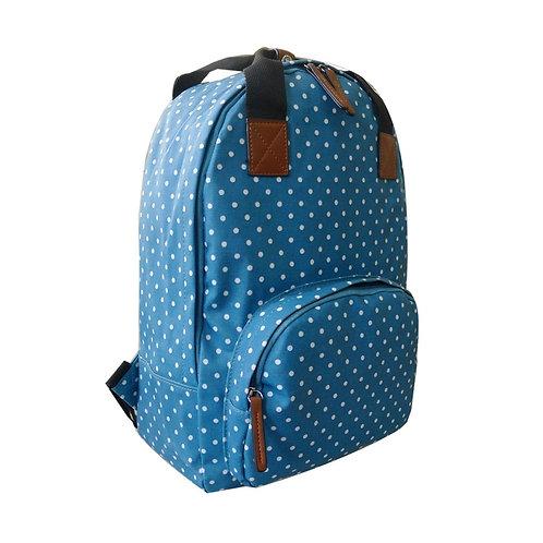 Mini Polka Backpack - Turquoise