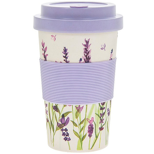 Lavender Bamboo Travel Cup