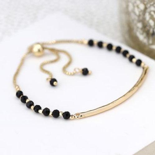 B21009 Textured Bar  Bracelet