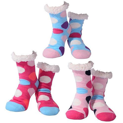 Cosy Polka Dot Socks (Adult)