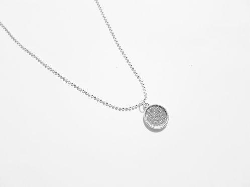 DN19007 Round Sparkle Necklace