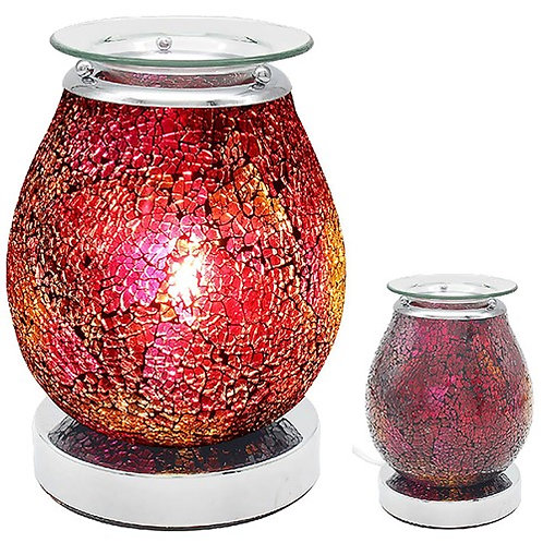 Red Mosaic Aroma Lamp