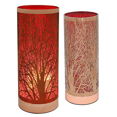 Aroma Woodland Touch Lamp - Red