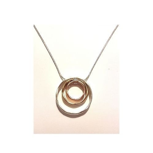 N20019 Triple Hoop Necklace