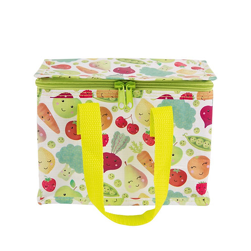 Insulated Lunch Bag - Happy Veg (Sass & Belle)