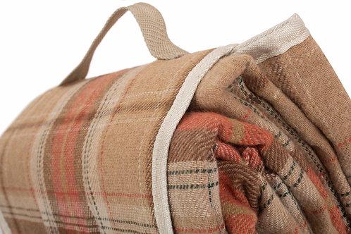 Autumn Tartan Picnic Rug