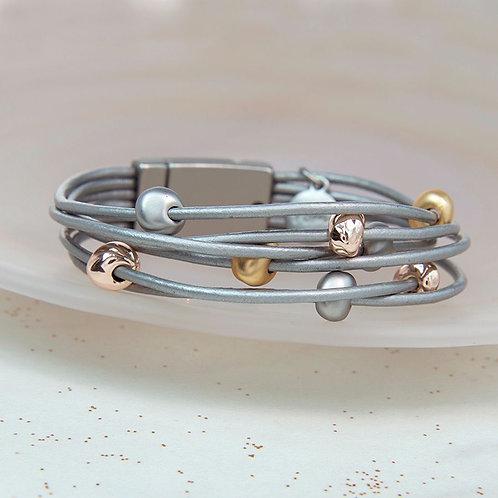 B19011 Mixed Stone Bracelet