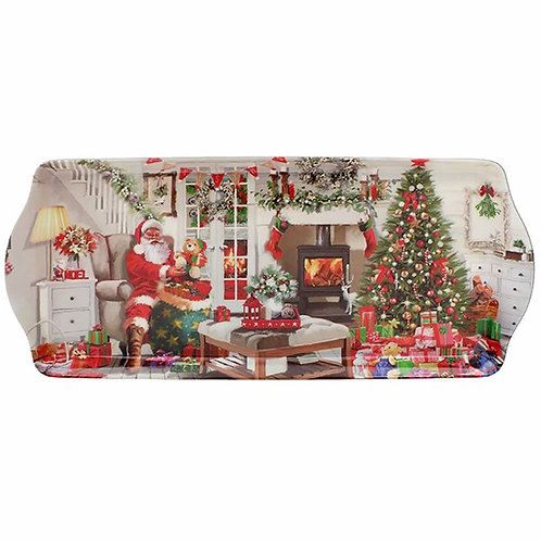 Santa Snack Tray