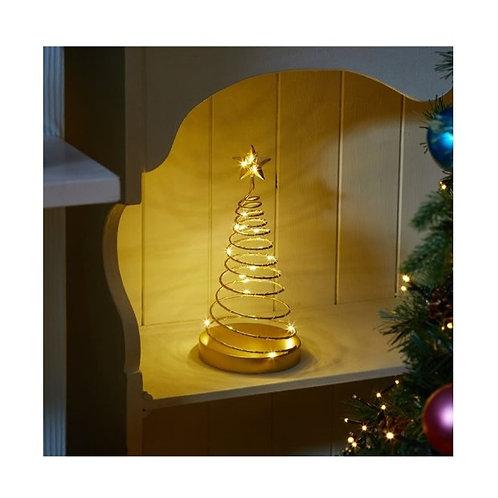 Gold Spiralite Tree