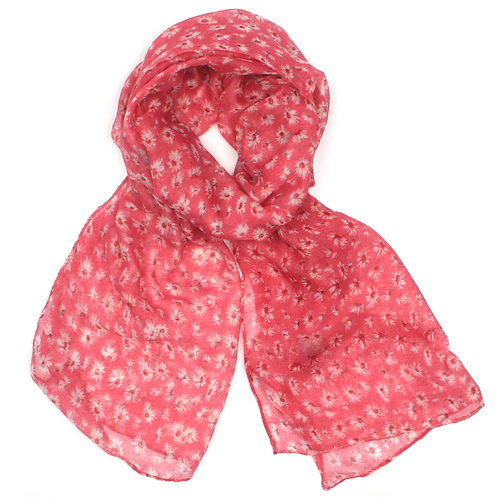 Little Daisy Scarf - Pink