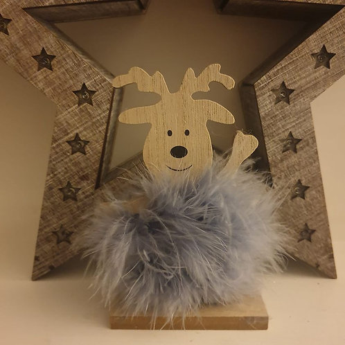 Fluffy Reindeer