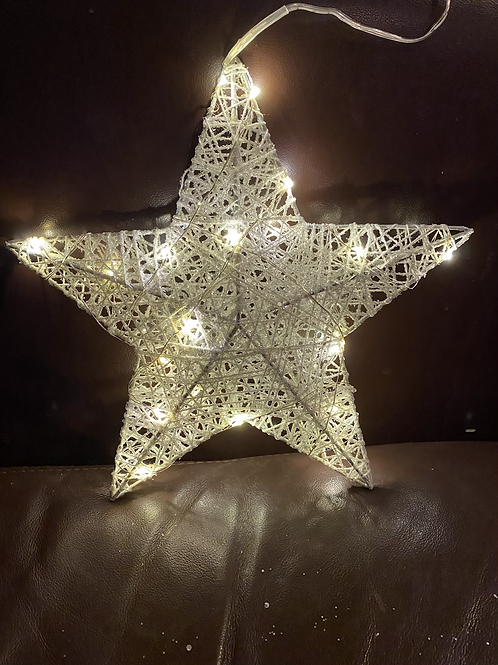 White Sparkle Star