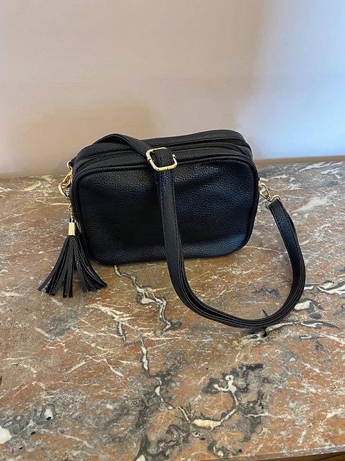 Black Camera Bag - Double Zip