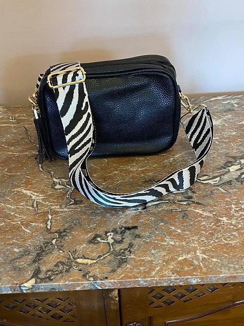 Camera Bag Strap - Zebra Stripe