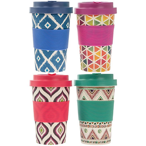 Bamboo Aztec Eco Cups