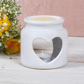 White Wax Oil Warmer