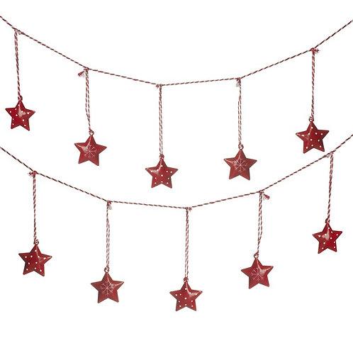 Red Star Garland