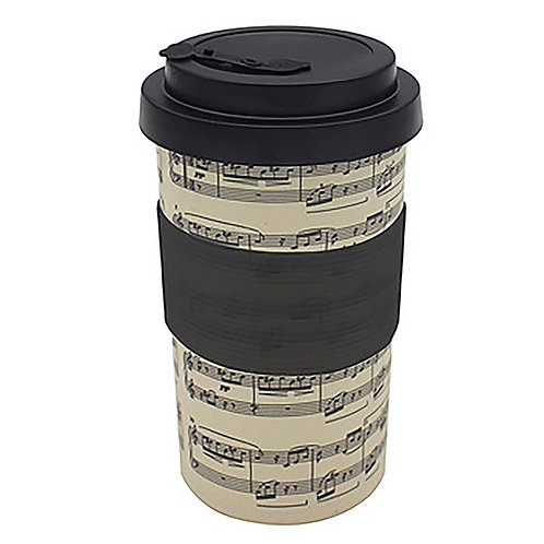 Music Bamboo Travel Cup