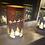 Thumbnail: Glass LED Sleigh Scene - Red