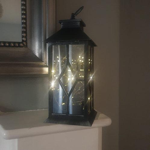 Black & Silver Lantern