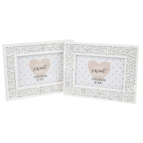 White Provence Frame