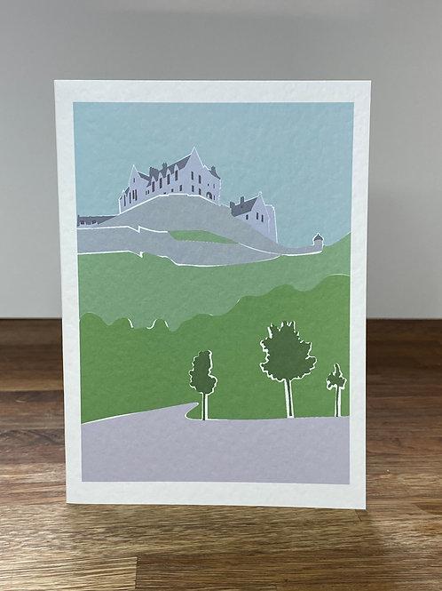 Edinburgh Castle - Single Card