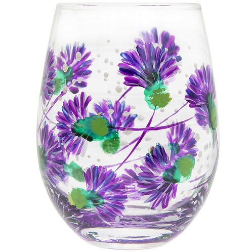 Thistle Stemless Glass