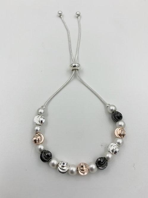 B20003 Multi Sliding Spheres Bracelet