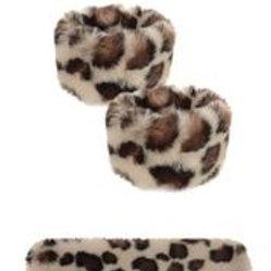 Snap Cuff - Snow Leopard