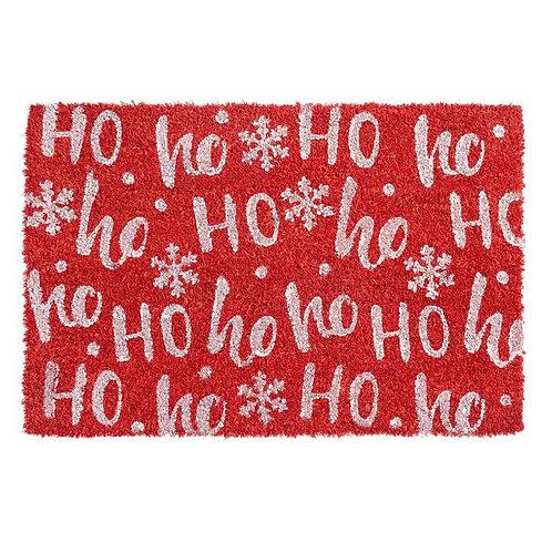 Christmas Door Mat - Red