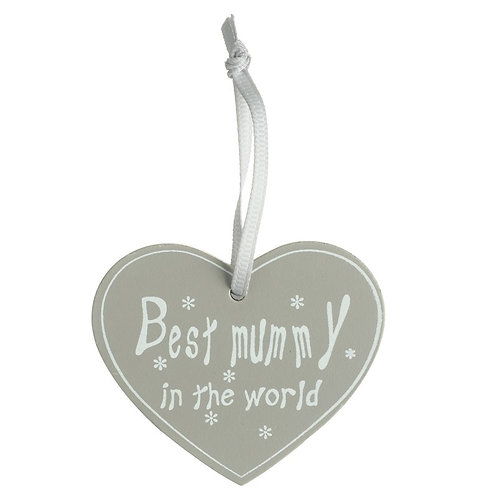 Best Mummy Hanging Heart