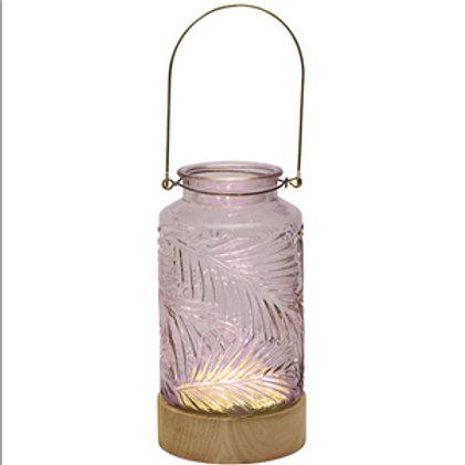 LED Fern Lantern