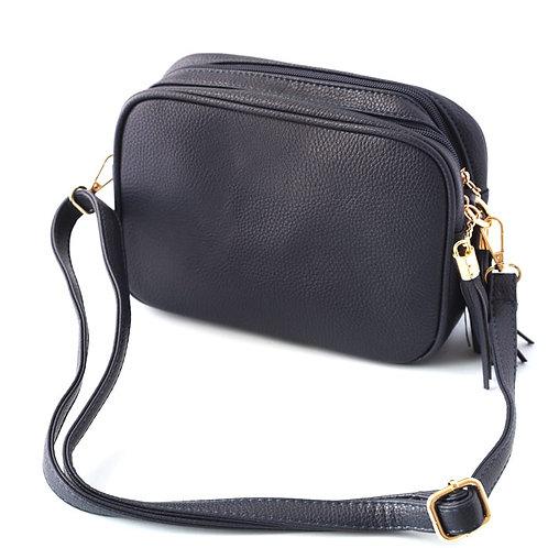 Navy Camera Bag - Double Zip