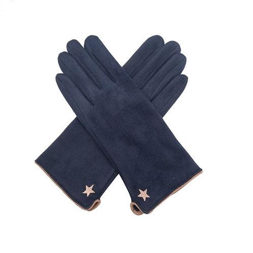 Star Gloves - Navy