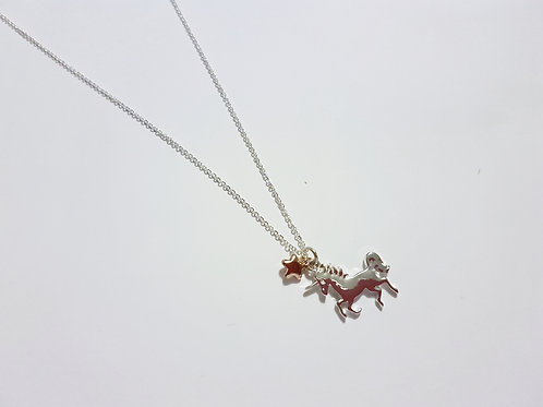 N19030 Unicorn Necklace