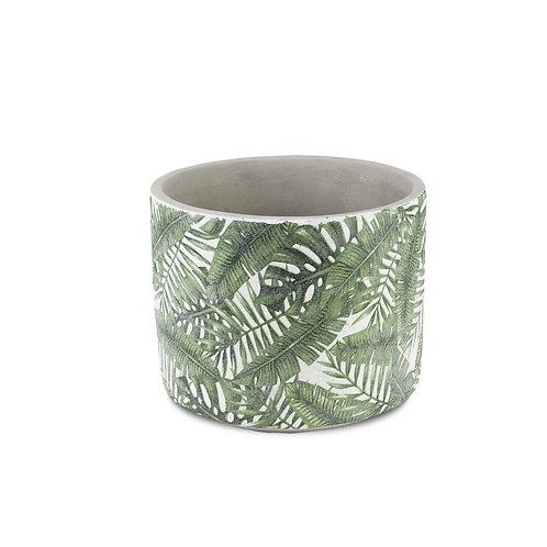 Tropical Leaf Pot