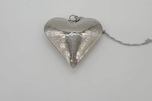 Hanging Silver Heart
