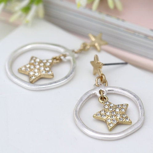 Sparkle Star Earrings