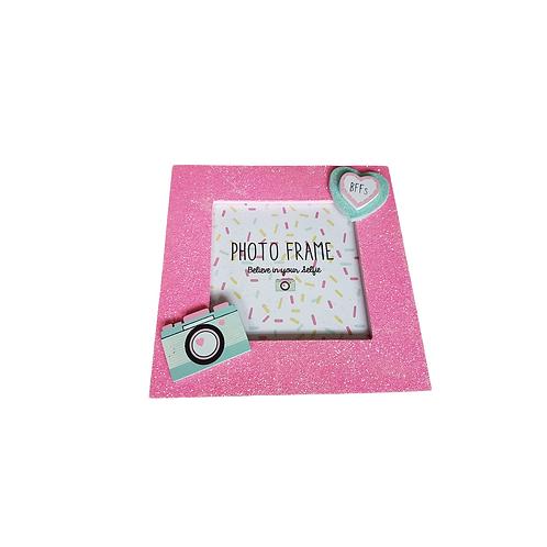 Pink Glitter Frames