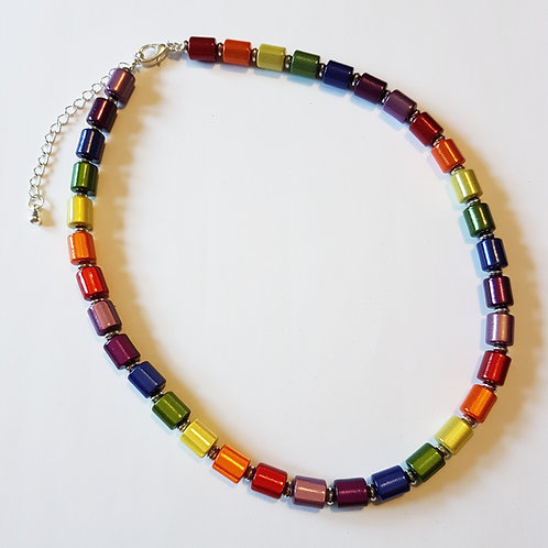 Rainbow Necklace Full