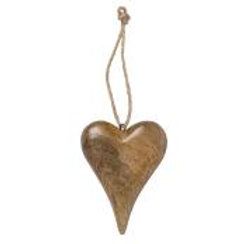 Tapered Wooden Heart
