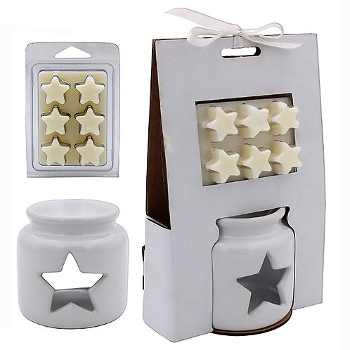 Star Wax Melts Set - White