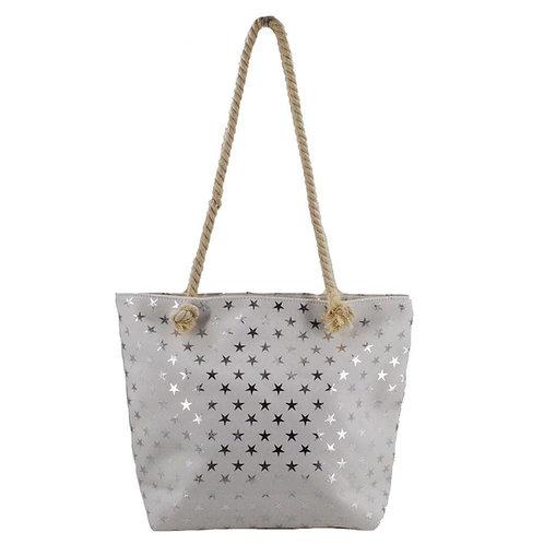 White Star Beach Bag