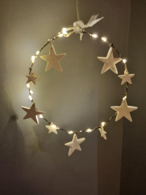 LED Hanging Stars Decoration