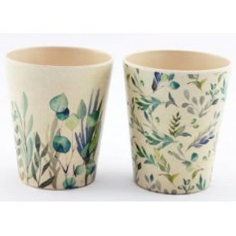 Olive Grove Bamboo Cups