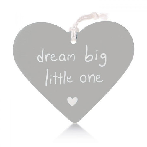 Dream Big Little One - Grey