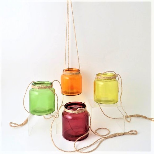 Glass Candle Pot