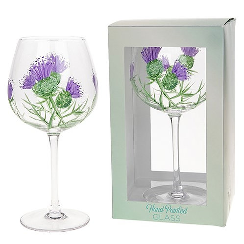 Arty Gin Glass - Thistle