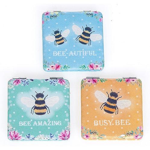 Bee Compact Mirror