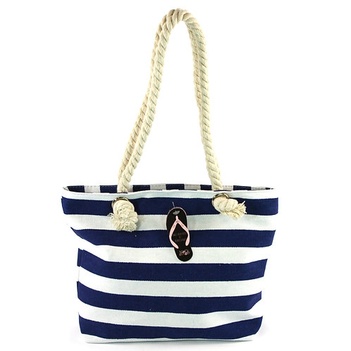 Thermal Bag - Navy Stripe